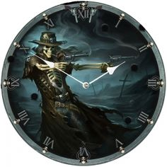 Fantastic designs Diameter of Clock approx Circular Wall hanging clock Hanging Clock, Angel Outfit, Cool Clocks, Fantasy Illustration, Steampunk Clothing, Poker Table, Biker, Art Pieces, Cool Stuff