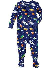 Printed One-Piece Sleepers for Baby