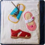 Картинки по запросу shoe tying quiet book page