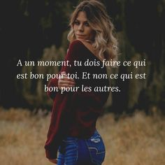 Ce que j'ai jamais fait.- Ce que j'ai jamais fait… Vie Positive, Positive Attitude, Positive Affirmations, Inspirational Quotes For Teens, Choose Joy, Bullet Journal Ideas Pages, Subconscious Mind, Some Quotes, I Can Relate