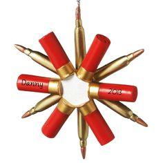 Shotgun shell star