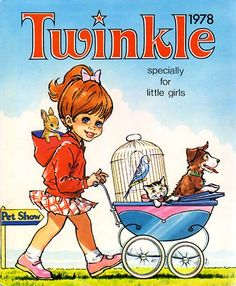 Twinkle, I used to get this comic every Saturday morning with my pocket money!