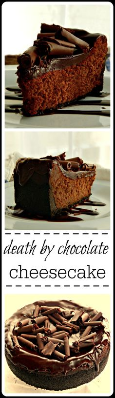 Death by Chocolate: You've been warned, lol! For serious chocolate lovers only