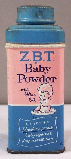 Vintage Baby Powder Tin