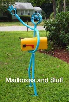 Mailbox, crazy