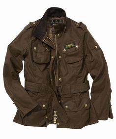 Barbour Women's International Jacket - rustic--one of the best jackets out there, you won't regret getting one!