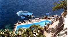 Hotel Luna Convento, Amalfi, Italy - Our exclusive pool with Giuseppe the pool man! Bliss!!