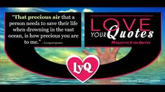 That precious air | loveyourquotes