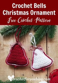 This Christmas Crochet Tree pattern is a part of the Christmas Ornament Mini CAL (Crochet- A - Long). Each pattern in this CAL requires less than 30 yards. Free Christmas Gifts, Crochet Christmas Decorations, Crochet Christmas Ornaments, Christmas Crochet Patterns, Holiday Crochet, Crochet Snowflakes, Christmas Angels, Crochet Socks Pattern, Crochet Pig