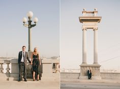 Whitney & Kevin's Downtown LA Engagement | Sweet Little Photographs