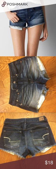 American Eagle Hi Rise Festival Shorts EUC No trades, offers welcome✌️☺️ American Eagle Outfitters Shorts