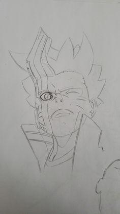 Naruto Gaiden, Uzumaki Boruto, Naruto Shippuden Anime, Kakashi, Naruto Drawings, Art Drawings Sketches Simple, Naruto Art, Anime Face Drawing, Best Naruto Wallpapers