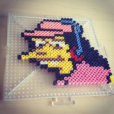 Otto Mann - The Simpsons perler beads by smargetts
