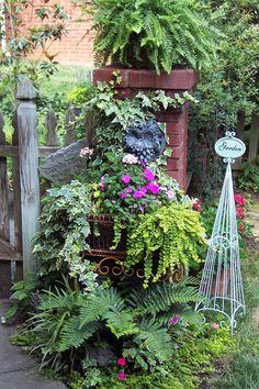 At my garden gate