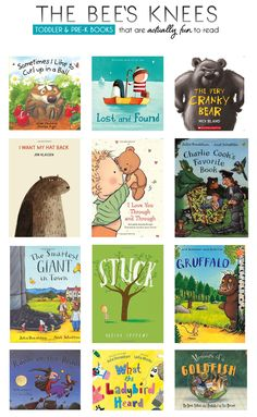 Toddler preschool books. We have most of these and my kids love them and they're fun to read.