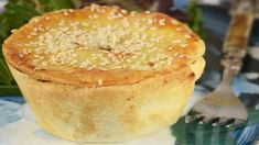 These individual Meat Pies have a buttery crisp pastry shell filled with ground meat, vegetables, and spices. With Demo Video Meat Recipes, Baking Recipes, Pastry Shells, Baking Muffins, Savoury Baking, Food To Make, Meat Pies, Yummy Food, Side Dishes