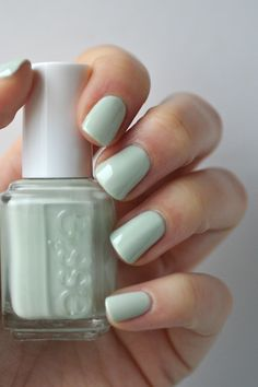 Essie Envy: Essie Mint Comparison : new Mint Candy Apple, old Mint Candy Apple, Blossom Dandy, Fashion Playground & Absolutely Shore