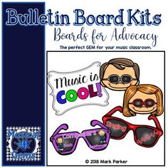 Use this eye-catching display to communicate to students and parents your curricular goals. Great for the beginning or the end of the year. Cool Bulletin Boards, Elementary Music, Music Classroom, Music Education, Your Music, Teacher Newsletter, Board Ideas, Teacher Pay Teachers, Musicals