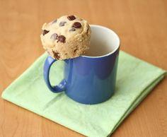 Nach meinem geilen 4 Minuten Schokokuchen aus der der Tasse jetzt ::::::Chocolate Chip Mug Cookie::::::