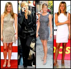 Take a clue from Jennifer Aniston....her clothes ALWAYS fit perfectly