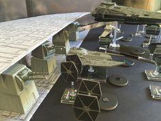 Built a quick Star Destroyer model for X-Wing battle. http://battlegaming1.blogspot.com/2015/09/quick-x-wing-star-destroyer-model-for.html
