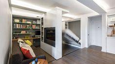 Les logements amovibles sont à la mode. Le géant suédois Ikea développe depuis deux ans un mur amovible et coulissant, permettant de faire disparaître et réapparaître une pièce.