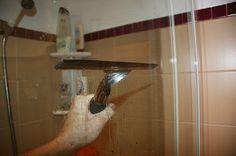 The Easiest Way to Clean Shower Doors