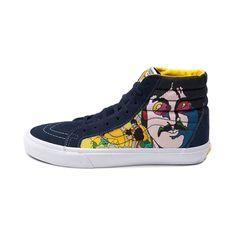 Vans Sk8 Hi Beatles Faces Skate Shoe