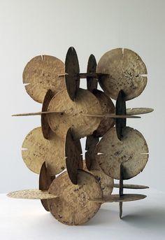 Damian Ortega Modulo de construccion de tortillas, 1998 corn tortillas, 6 x 14.2 x 14.5 in inches
