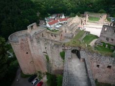 The castle is now in ruins, but still worth a visit.