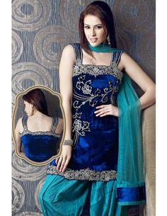 Innovative Velvet Kameez Item code : SLJ531  http://www.bharatplaza.com/womens-wear/readymade-suits/bollywood-salwars/innovative-velvet-kameez-slj531.html https://www.facebook.com/bharatplazaportal https://twitter.com/bharat_plaza