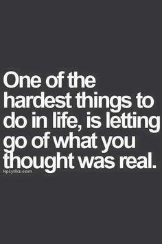#hard #letgo #real
