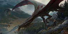I saw a dragon by Sergey Demidov on ArtStation.