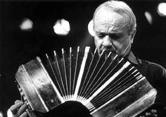 Astor Piazolla - composer and bandoneón player