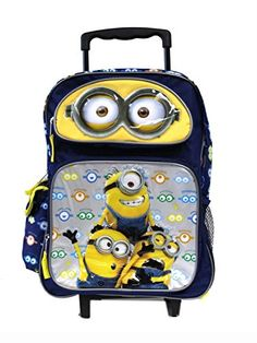 eb631b5617 Looking for a minion backpack for school for your kids  Here you ll find  cool minion backpacks