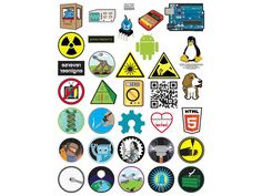 Sheet of stickers (33 total) - Stickers! - Series 01
