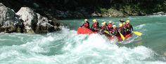 Rafting in der Palfauer Schlucht auf der Salza in der Steiermark - Österreich. Rafting, Sport, Abseiling, Deporte, Sports