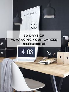 30 Day Challenge: 30 days of Advancing Your Career #theeverygirl