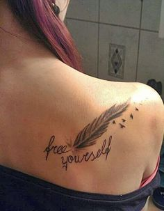 Images of feather tattoos
