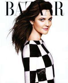 Harper's Bazaar. Drew Barrymore