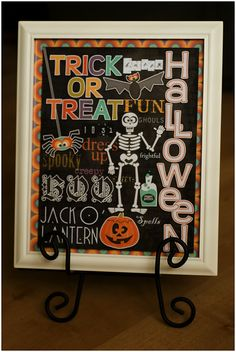 halloween home decor by Keely - sweet shoppe designs blog