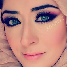 Makeup of artist zukreat