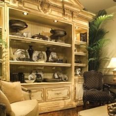 habersham biltmore caminetto media cabinet - Habersham Furniture