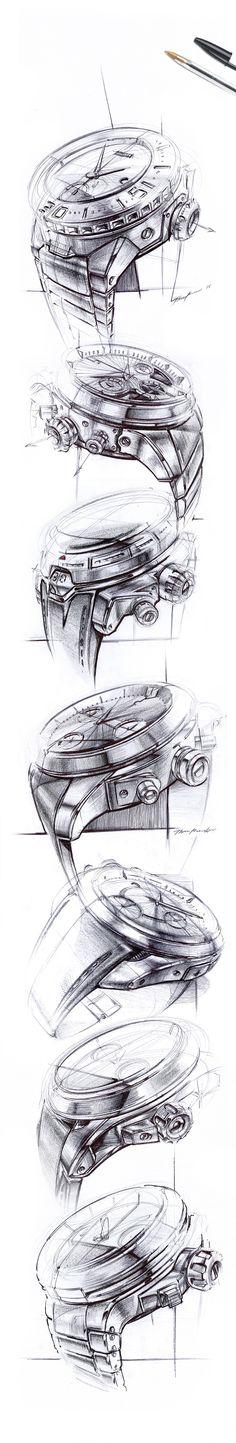 BIC Sketchbook - Watches on Behance