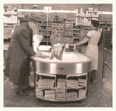 Piedmont Grocery- Oakland, CA- 1950's era.