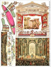 Square Shrine Opera House Collage Sheet