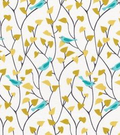 Cloud 9 Organic Fabric  Tweety Bird in Blue  by marymcnultydesign, $6.00