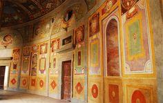 Palazzo Farnese  interior detail , Caprarola , Italy