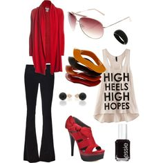red touch!!! --> I love it