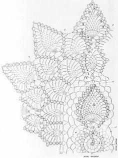 Oval Doily  Refinement  crochet scheme